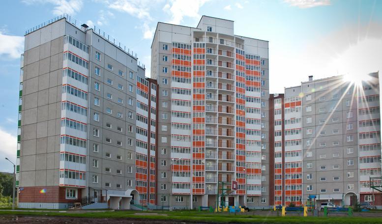 Фото современных многоэтажных домов